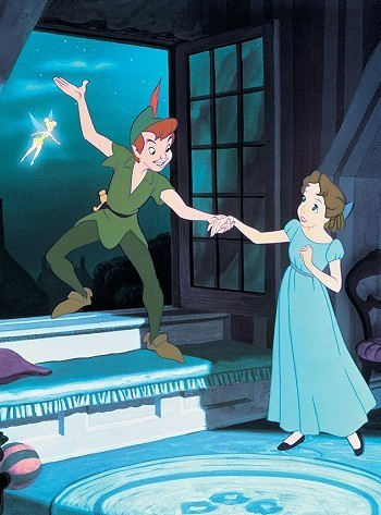Peter Pan wallpaper entitled Peter Pan and Wendy