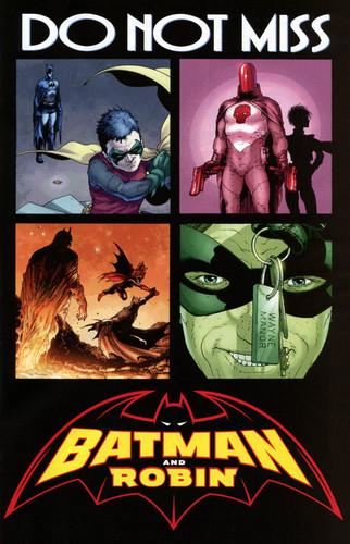 Pics form batman and Robin #1