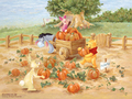 zucca Patch Winnie the Pooh wallpaper