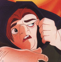 The Hunchback of Notre Dame wallpaper possibly containing anime entitled Quasimodo