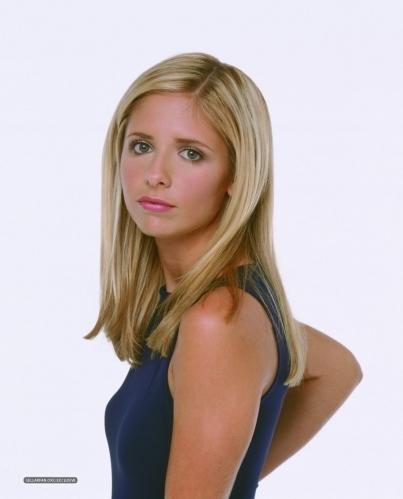 Rare Buffy promo pics