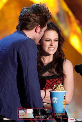 Rob's Acceptance daftar w/ Kristen on it :)