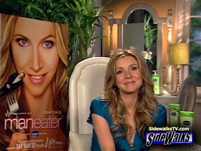 Sarah Chalke wallpaper titled Sarah on SideWalksTV