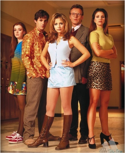 Buffy – Im Bann der Dämonen Hintergrund called Season 1 Promos+Stills