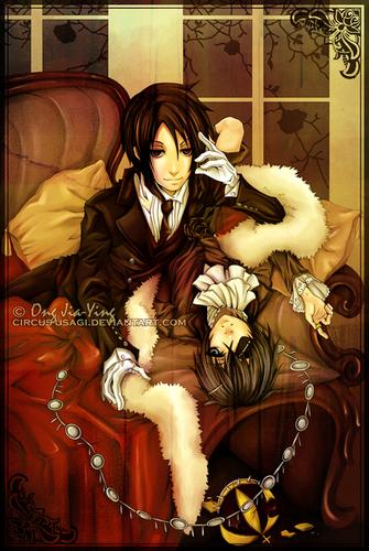 Sebastian et Ciel fan art