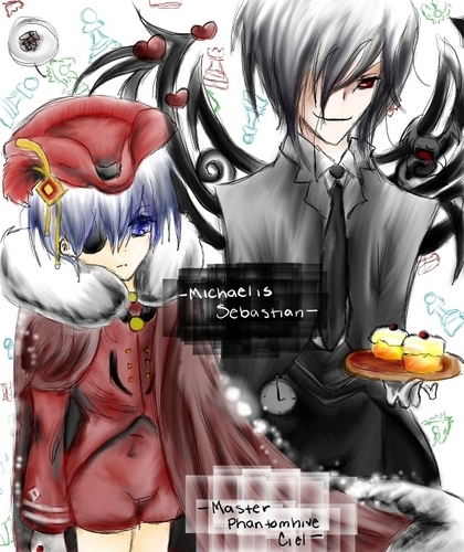 Sebastian et Ciel ファン art