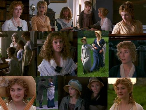 Sense and Sensibility Collage