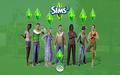 Sims 3 karatasi la kupamba ukuta