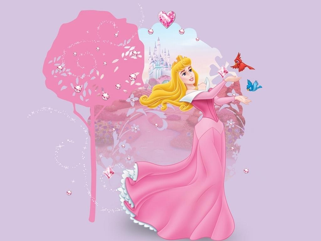 Sleeping Beauty kertas dinding