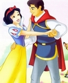 Snow White and her Prince - snow-white-and-the-seven-dwarfs photo