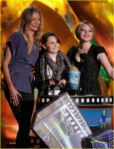 Sofia at the 2009 mtv Movie Awards