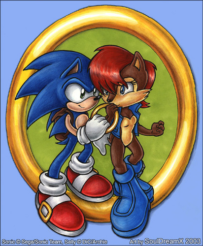 SonSally :3 - sonic-the-hedgehog Photo