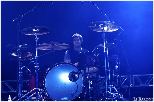 Soundcheck in Curitiba, Brazil - March, 19