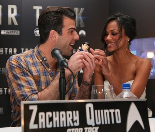 Star Trek XI - Mexico Photocall - zachary-quinto Photo