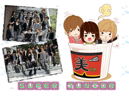 Super Junior U Cartoon Image