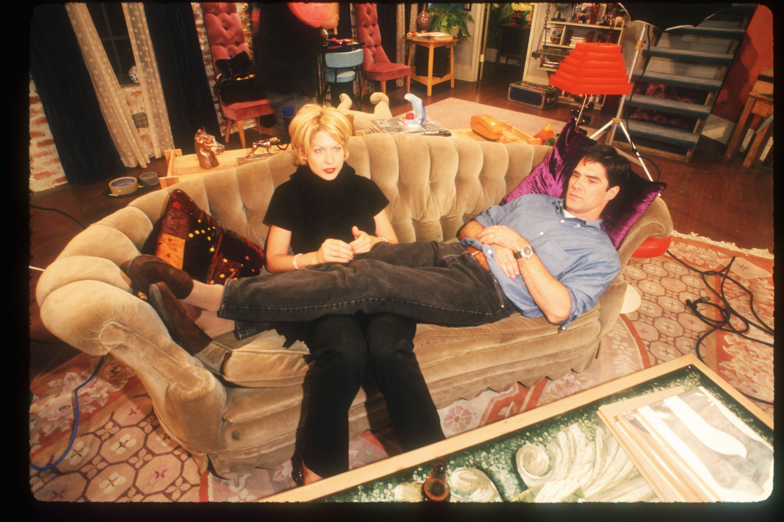 Thomas Gibson Images Tg In Dharma And Greg Behind The Scenes Hd Wallpaper Background Photos