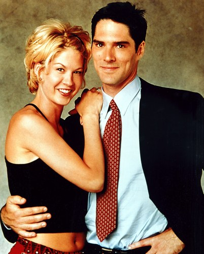 Thomas Gibson wallpaper with a business suit titled TG in Dharma and Greg