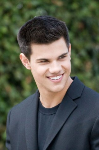 Taylor Lautner at a photo shoot in Los Angeles