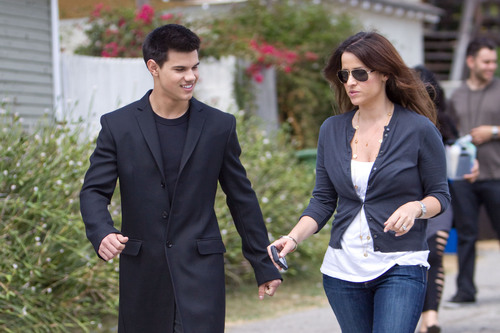 Taylor Lautner at his litrato shoot in L.A.