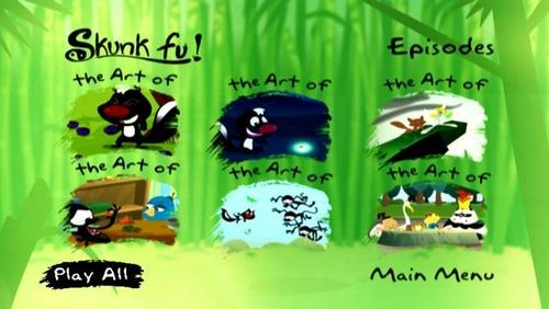 The Art Of Kung Fruit Episode Selection Screen