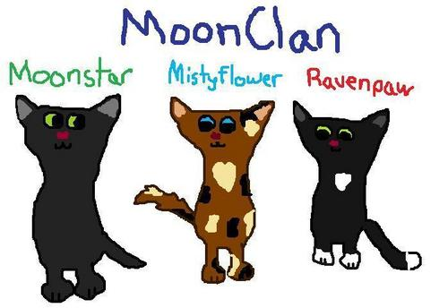 The Warriors of MoonClan