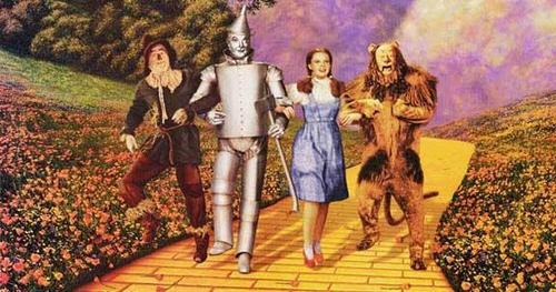 The Wizard of Oz wallpaper possibly containing anime titled The Wizard Of Oz