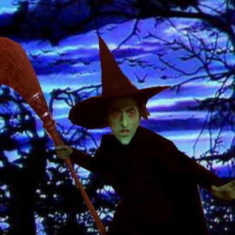Le Magicien d'Oz fond d'écran entitled The Wicked Witch Of The West