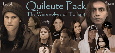 Siri-siri Twilight kertas dinding probably with a portrait titled The quileute tribe
