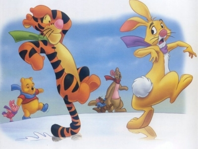 Tigger and Rabbit