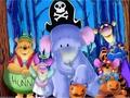 Winnie the Pooh Halloween Hintergrund