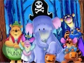 Winnie the Pooh halloween fondo de pantalla