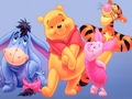 Winnie the Pooh kertas dinding