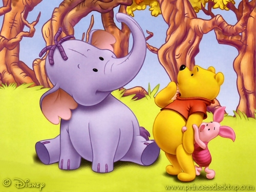 O Ursinho Puff wallpaper with animê titled Winnie the Pooh wallpaper