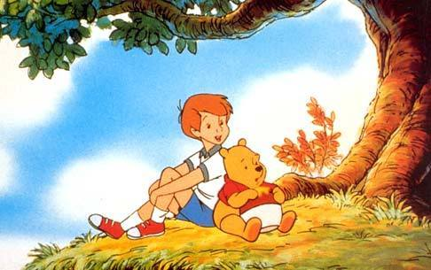 Pu der Bär Hintergrund with Anime called Winnie the Pooh and Christopher Robin