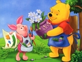 Winnie the Pooh and Piglet Wallpaper - winnie-the-pooh wallpaper