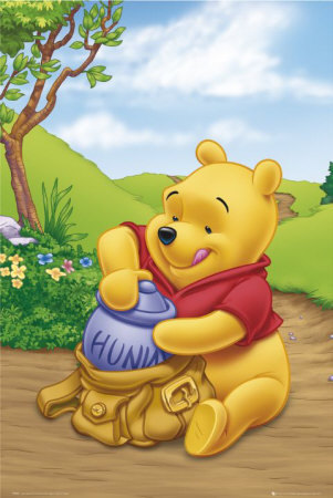 Winnie-the-Pooh karatasi la kupamba ukuta possibly containing anime entitled Winnie the Pooh
