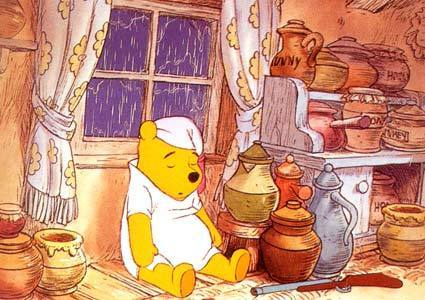 gấu Pooh hình nền probably with anime titled Winnie the Pooh