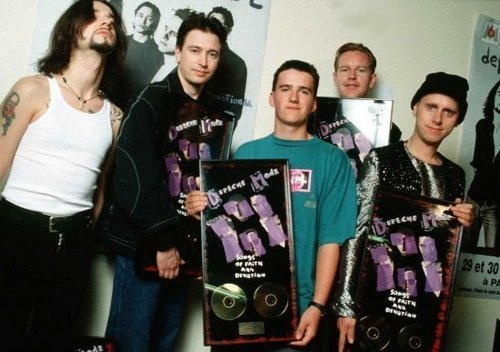 With Depeche Mode