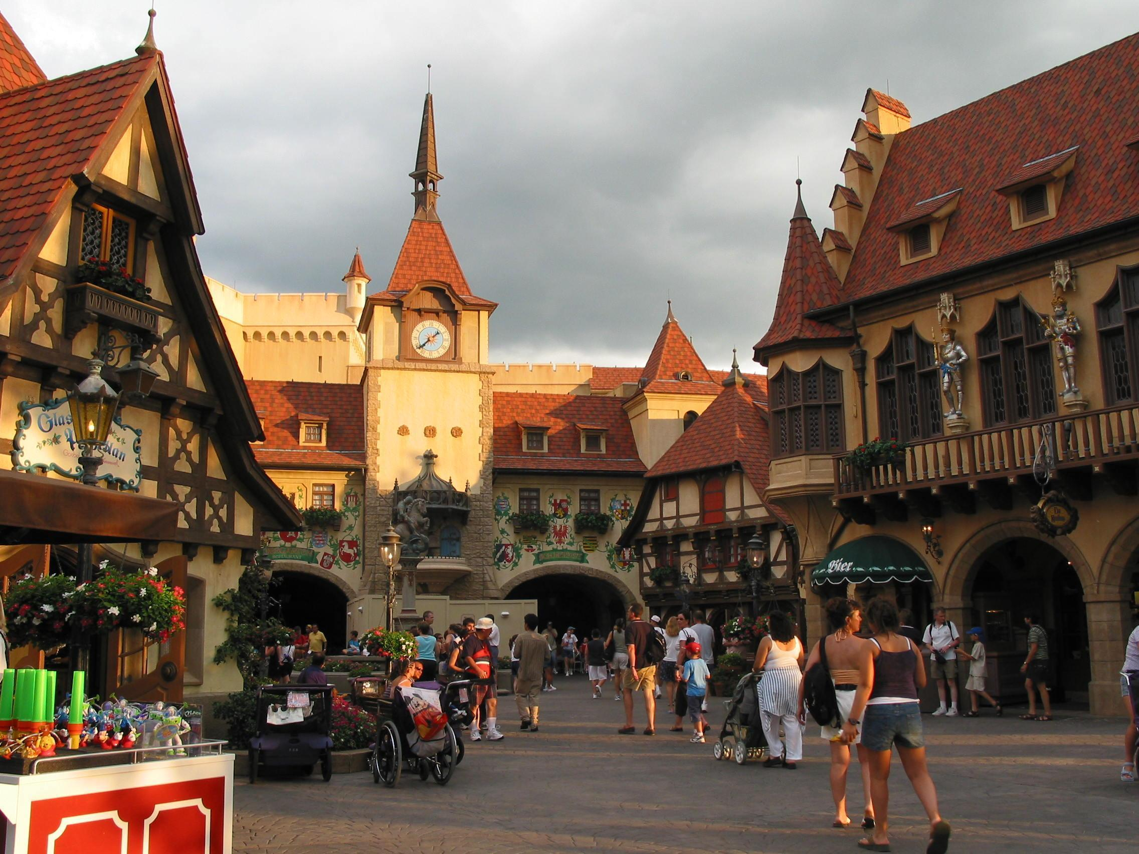 The Disney World Club images World Showcase Germany HD wallpaper and backgrou