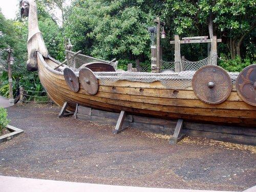 World Showcase Norway Viking Ship