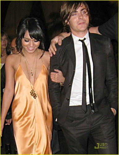 Zac and Vanessa at MTV Movie Awards after party