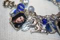 close up Jacob blue charm bracelet $20 - twilight-series photo