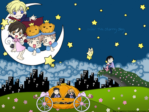 Dia das bruxas with ouran