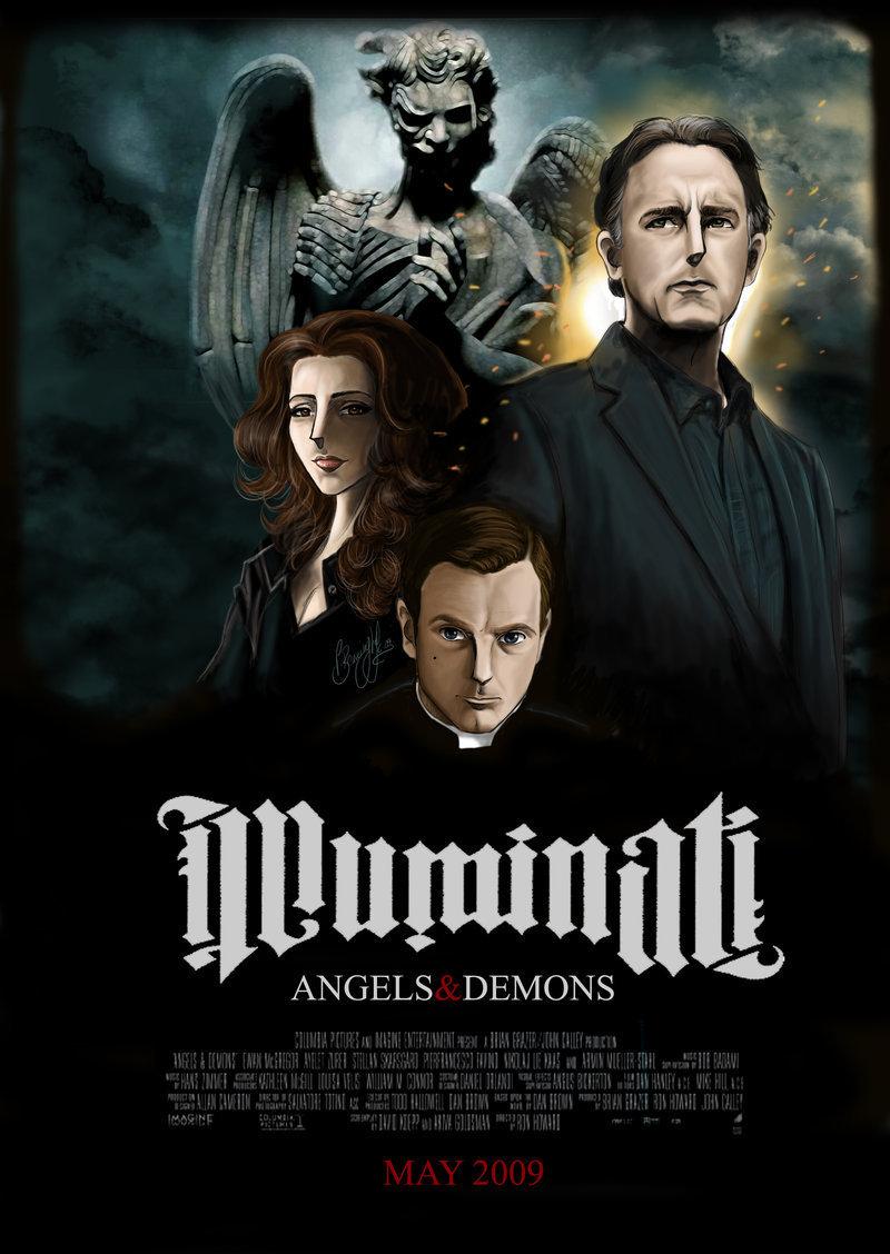illuminati angels amp demons fan art 6500627 fanpop