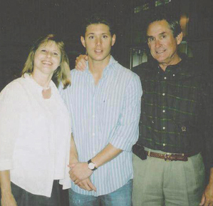 jensen+ donna ackles(mather)+alan(father)