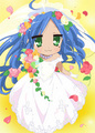 konata wedding - lucky-star photo