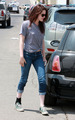 kristen stewart Out in Santa Monica - June 4, 2009  - twilight-series photo