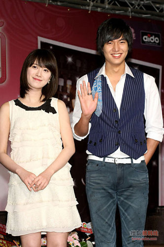 lee min ho and goo hye sun (BBF)in taiwan