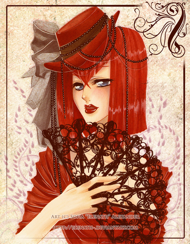 madam Red shabiki art