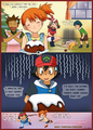 mistys christmas pudding - ash-ketchum fan art